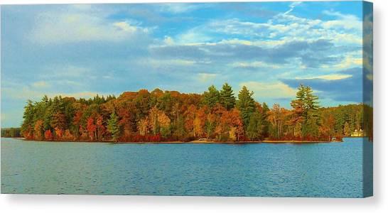 Autumn In Maine Canvas Print