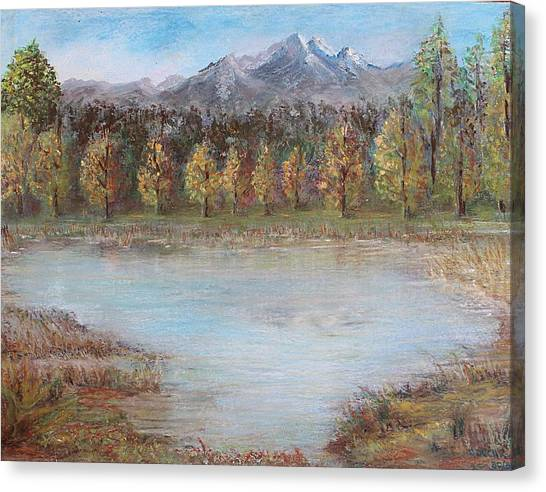 Autumn In Maule Canvas Print