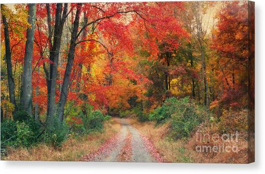 Autumn In New Jersey Canvas Print