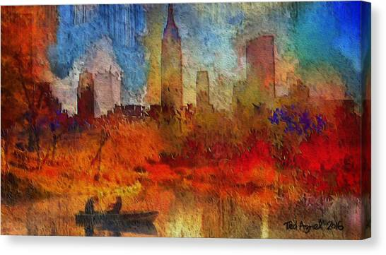 Autumn In New York Canvas Print