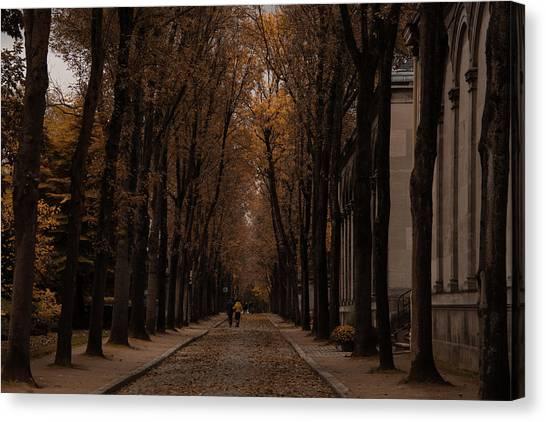 Autumn In Paris 1 Canvas Print