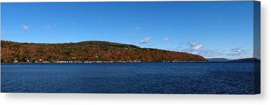 Autumn In The Finger Lakes Canvas Print
