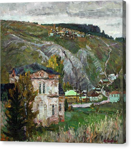 Ural Mountains Canvas Print - Autumn In The Kin by Juliya Zhukova