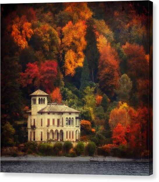 Autumn Is My Garden Canvas Print