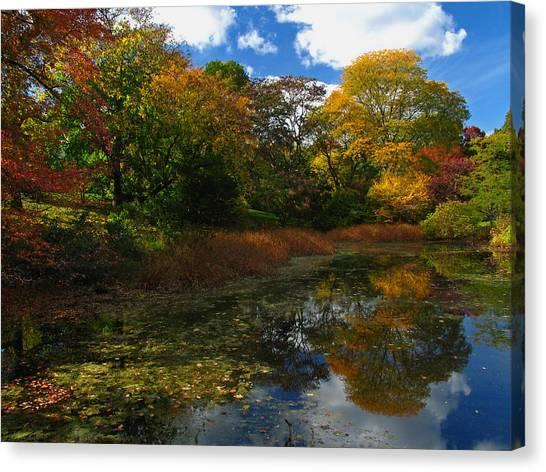 Autumn Landscape Canvas Print by Juergen Roth