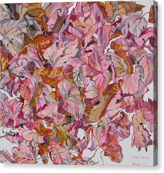 Autumn Leafes Canvas Print by Vitali Komarov