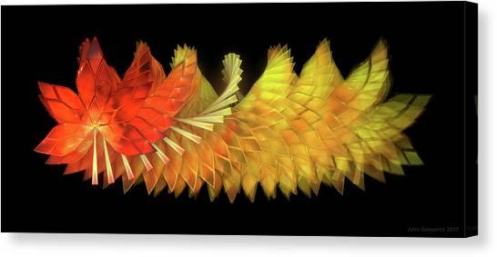 Canvas Print - Autumn Leaves - Composition 2.2 by Jules Gompertz