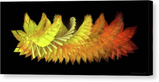 Canvas Print - Autumn Leaves - Composition 2.3 by Jules Gompertz