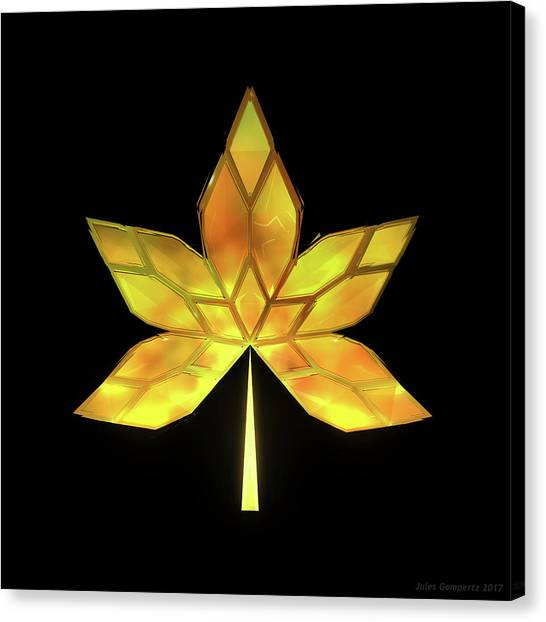 Canvas Print - Autumn Leaves - Frame 070 by Jules Gompertz