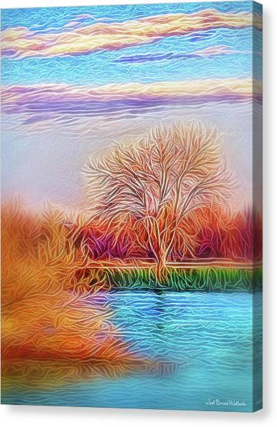 Autumn Light Realization Canvas Print