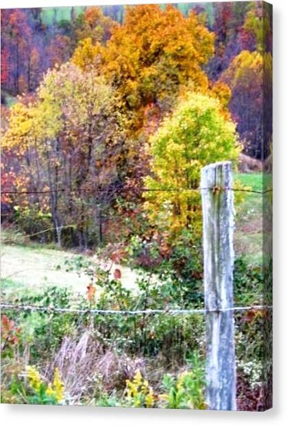 Autumn Canvas Print by Linda Henriksen
