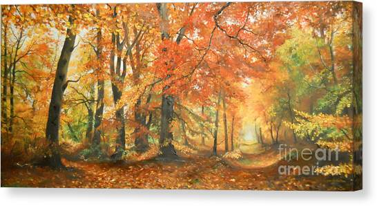 Autumn Mirage Canvas Print