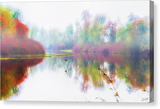 Autumn Morning Dream Canvas Print