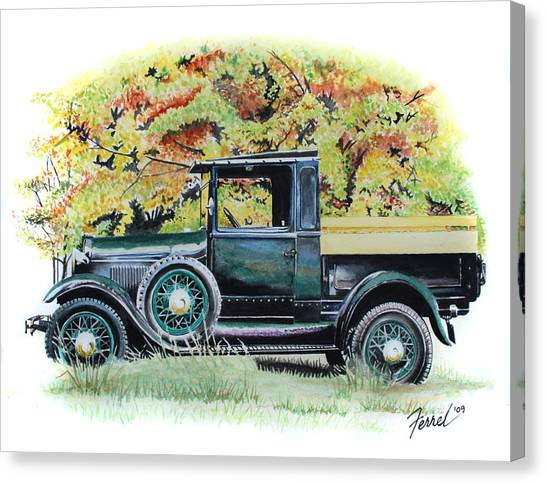 Autumn Of Life Canvas Print by Ferrel Cordle