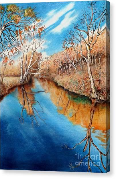 Autumn On The Elkhorn Canvas Print