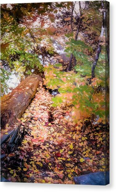 Autumn On The Mountain Canvas Print