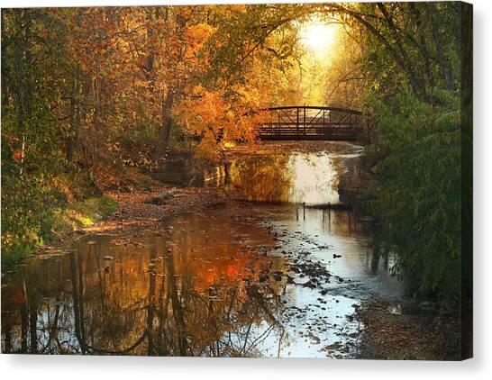 Autumn Over Furnace Run Canvas Print