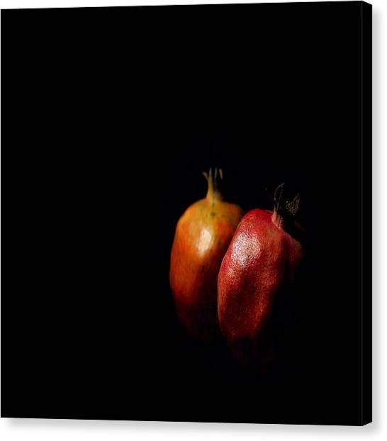 Autumn Pomegranate Canvas Print