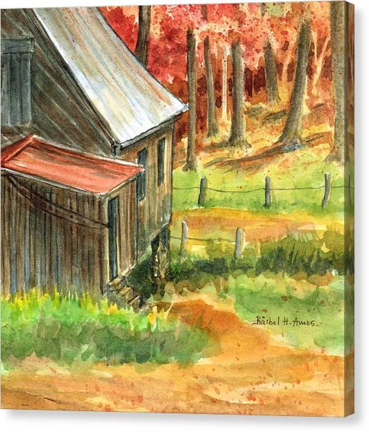 Autumn Retreat Canvas Print