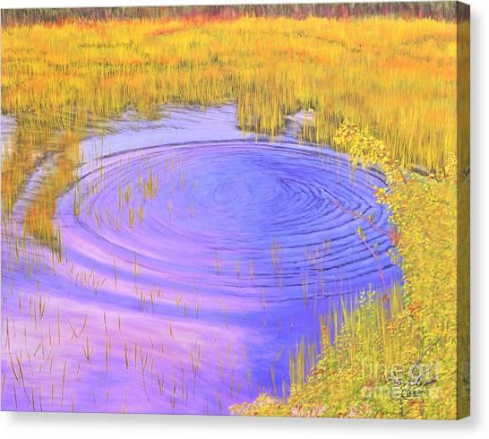 Autumn Ripples Canvas Print