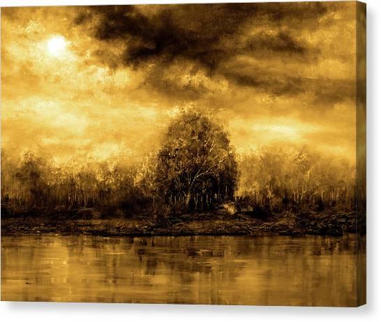 Autumn Skies Canvas Print by Ann Marie Bone