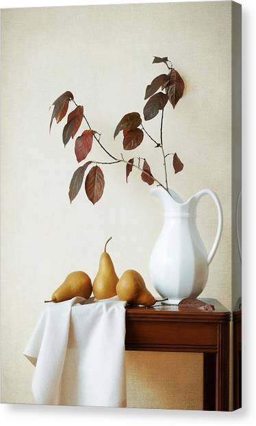 Autumn Tableau Canvas Print