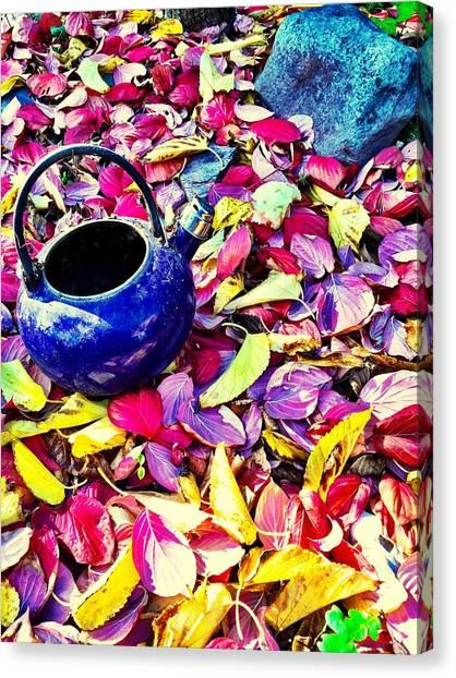 Autumn Tea Canvas Print