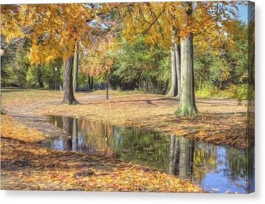 Autumn Tranquility Canvas Print by Zev Steinhardt