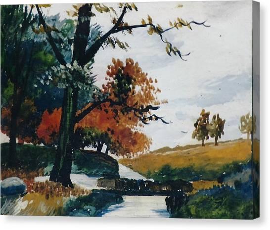 Canvas Print - Autumn View by Anne-elizabeth Whiteway