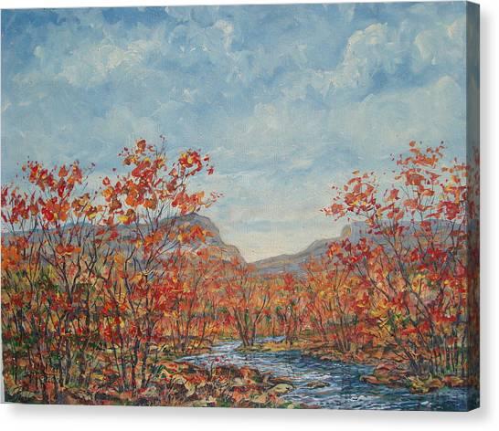 Autumn View. Canvas Print