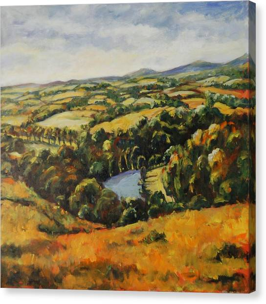 Autumn Vista Canvas Print