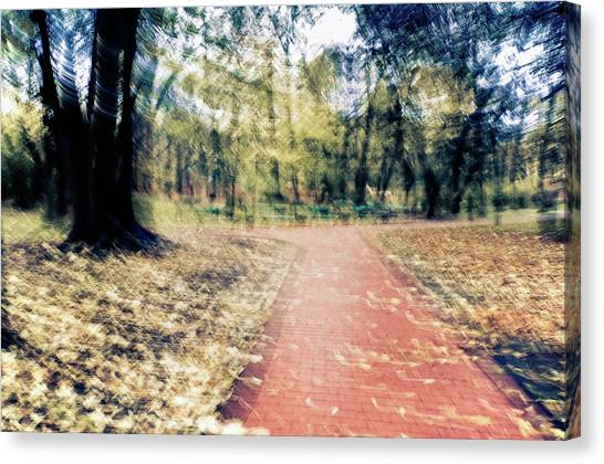 Autumn Walks Canvas Print