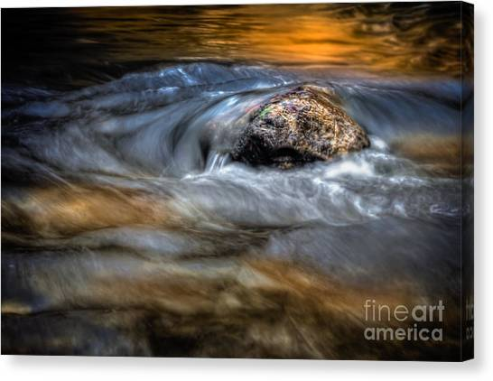 Autumn Waters Canvas Print