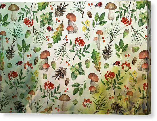 Canvas Print - Autumn Woodland by Amanda Lakey