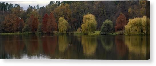 Autumnal Canvas Print by Mihail Antonio Andrei