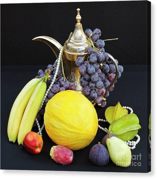 Symphony Of Forbidden Fruits Canvas Print