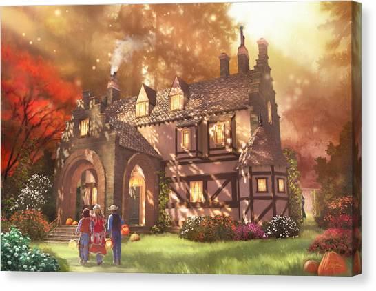 Autumnhollow Canvas Print