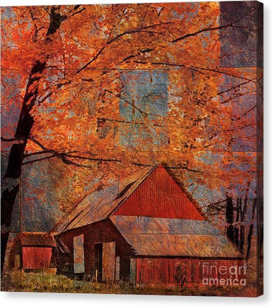 Autumn's Slate 2015 Canvas Print