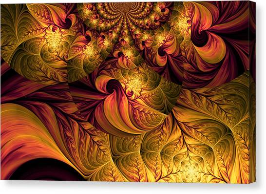 Autumns Winds Canvas Print