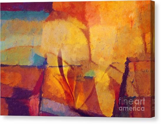 Autunno Stagione Canvas Print