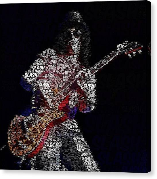 Metal Canvas Print - Available As A Skin In My Store #slash by Keith  Greener