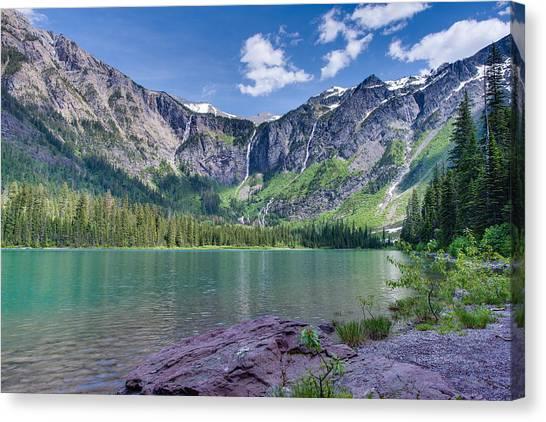 Avalanche Lake Canvas Print