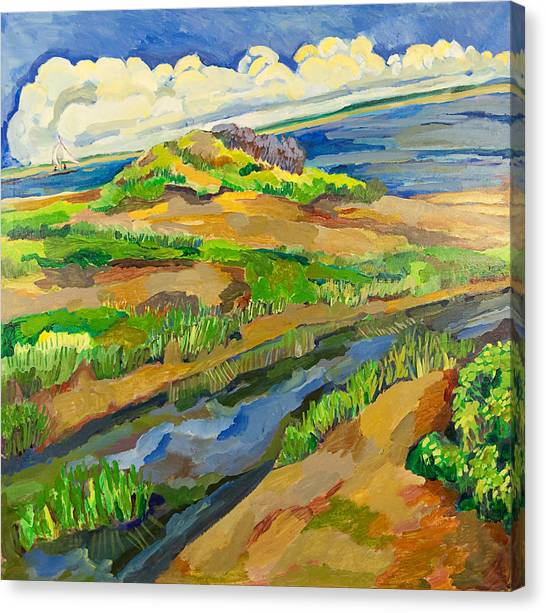 Avalon Dunes  Canvas Print