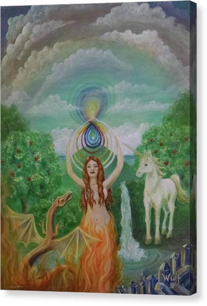 Avalon Portal Canvas Print