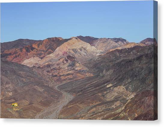 Canvas Print featuring the photograph Avawatz Mountain by Jim Thompson