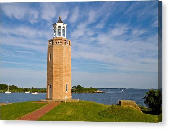 Avery Point Lighthouse Canvas Print