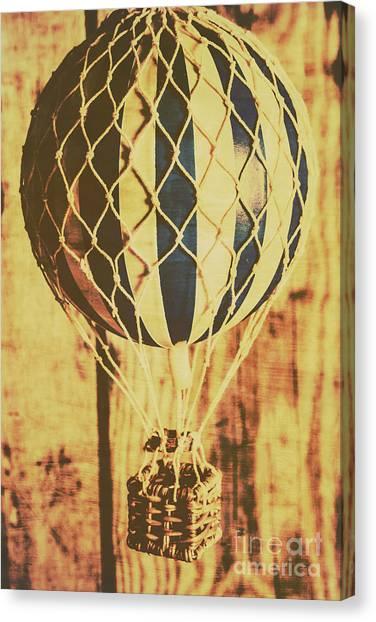 Balloons Canvas Print - Aviation Nostalgia by Jorgo Photography - Wall Art Gallery