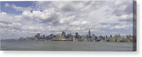 A View From New Jersey 1 Canvas Print