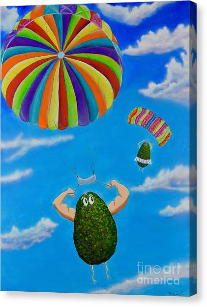 Avocado's From Heaven Canvas Print