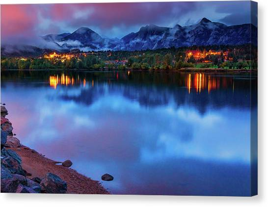 Awaiting Dawn Canvas Print